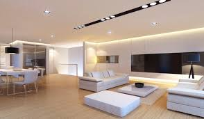 Bright Living Room Lighting Ideas - Simple and modern interior design