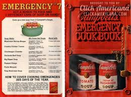 cbell kitchen recipe ideas 20 recipes from cbell s emergency dinner cookbook 1968