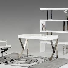 shop white lacquer desk on wanelo