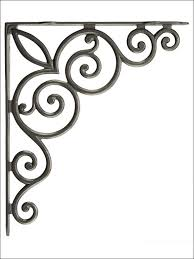 Buy Corbels Furniture Wonderful Cast Iron Corner Brackets 2 Inch Shelf
