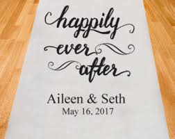 personalized wedding aisle runner wedding aisle runner personalized white