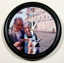personalized picture clocks personalized photo wall clocks