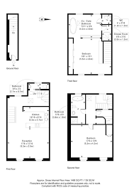 Floor Plan Of Bank by Ledbury Road W11 Flat For Sale In Notting Hill Kensington