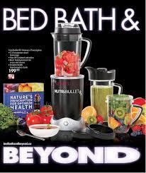 bed bath beyond bed bath u0026 beyond canada flyers