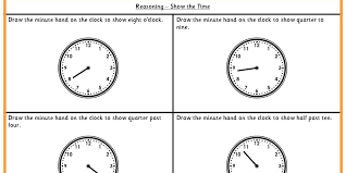 show the time ks1 reasoning test practice classroom secrets