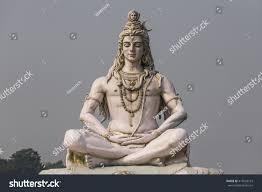 God Statue Hindu God Statue Lord Shiva Sculpture Stock Photo 414563122