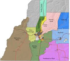 Map Of La County District Plans La Plata County U0027s Community Development Se