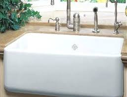 rohl farm sink 36 rohl fire clay sink apron front single bowl new farmhouse sink