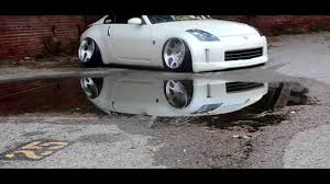 devil 350z bagged stanced 350z violentclique airogance bangers youtube