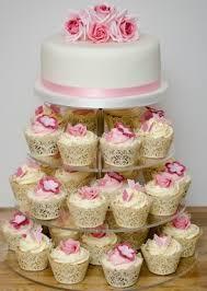 rose cupcake tower sweet temptation