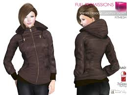 second life marketplace full perm mi winter hoodie leather