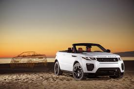 land rover convertible 2016 range rover evoque convertible review gtspirit