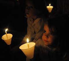 slideshow of carol singing at st s orthodox church