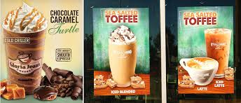 Franchise Coffee Toffee franchise management print ordering franchise graphics