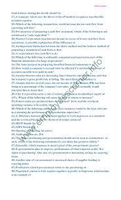 fpsc past paper senior auditor jobs military accounts 2014