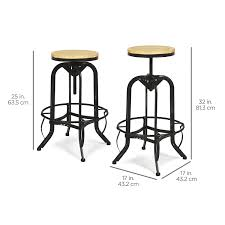 amazon com best choice products vintage bar stool industrial