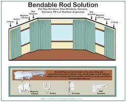 home design idea 2017 best free home design idea inspiration curtain rods for bow windows flexible curtain rods for bow windows bow window curtains on pinterest
