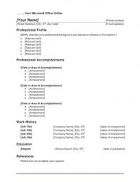 Resume Template Microsoft Word 2003 Office Resume Templates Haadyaooverbayresort Com
