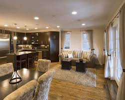 Tile Flooring Living Room Open Living Room Kitchen Designs Wooden Tripod Floor Lamp White