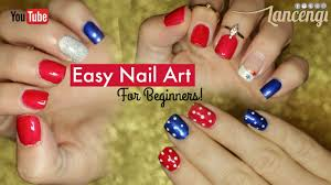 diy cute u0026 easy nail art polish designs for beginners 4th of