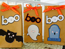 halloween treat bags for the class holidays pinterest bag