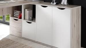 Ecktisch Schreibtisch Quadro Ecktisch Sandeiche Weiß 160x145