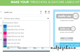 list of colours madpsychmum singapore parenting travel blog labels and stuff