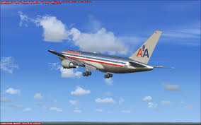 american airlines boeing 767 200 for fsx