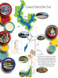 Afton State Park Map by Union County Tourism