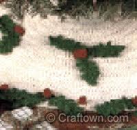free crochet pattern tree skirt crochet it xmas stand alone