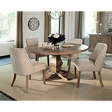 artefama tower dining table amazon com artefama furniture phill 55 round dining table kitchen
