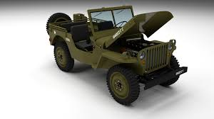jeep open full w chassis jeep willys mb military hdri by dragosburian