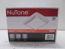 vintage nutone scovill 8662nl bathroom ceiling light exhaust fan