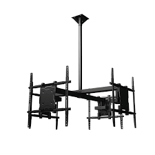 Ceiling Mounted Tv by Crimson Quad Display Universal Ceiling Mount For Four 37 65 Inch
