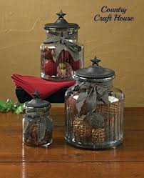 primitive kitchen canisters large glass cannister primitive country kitchen black glass