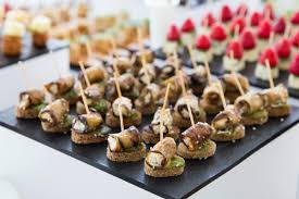 what does canape everything you need to about wedding canapés bijou wedding