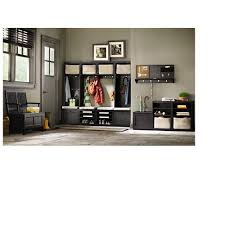 home depot upper cabinets martha stewart living mudroom 20 in w x 15 in h wood worn black