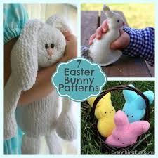 stuffed bunnies for easter 7 easter bunny patterns diy gifts everythingetsy
