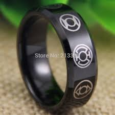green lantern wedding ring free shipping usa uk canada russia brazil hot selling 8mm green