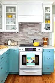 Turquoise Kitchen Decor Ideas Stunning Turquoise Kitchen Cabinets Turquoise Blue Kitchen