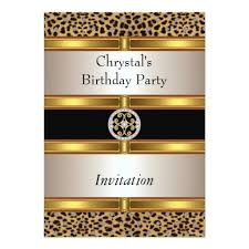 leopard birthday invitations 28 images 60th birthday