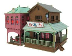 Mini House Kits Japanese Miniature Paper House Kits Toy Houses Pinterest