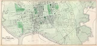 Old Map New York City by File 1873 Beers Map Of Part Of Flushing Queens New York City