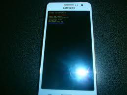 ecran noir téléphone mobile samsung galaxy grand prime g531f ecran noir