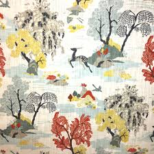 Home Decor Stores Nashville Tn by Modern Toile Fabric Dwell Studio Modern Toile Persimmon Discount