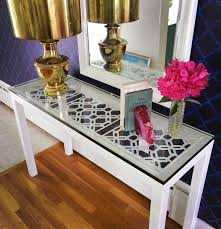 Glass Console Table Ikea Inspiring Glass Console Table Ikea With Ikea Console Tables Best