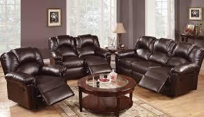 Genuine Leather Reclining Sofa with Sofa 58 Leather Recliner Sofa Veneto Brown Leather Reclining