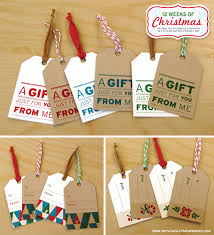 free printable gift tags holidays free