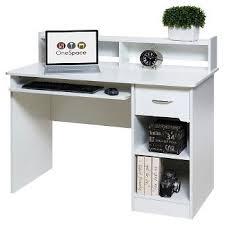 white computer desk hutch target