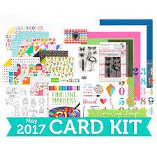 nichol spohr llc simon says st may 2017 card kit